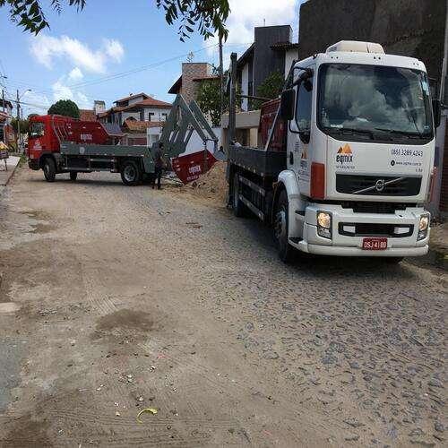 Coleta de resíduos da construção civil